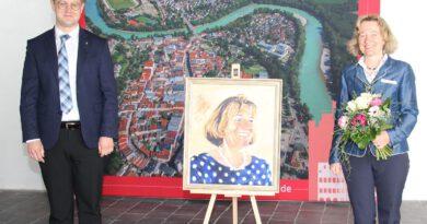 Neues Gemälde für die Rathausgalerie