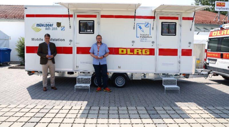 Mühldorf: Ab Sonntag wird mobil geimpft