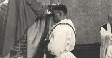 Primiz vor 70 Jahren: Pater Bruno Wunder