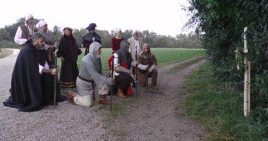 Gedenkkreuz erinnert an die Gefallenen vom 28.September 1322
