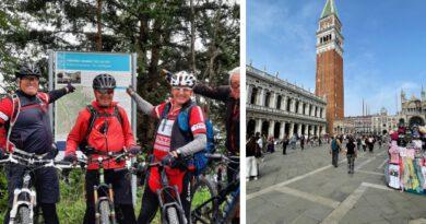 Nach Venedig wollen viele, die schönste Anreise ist die per Rad.